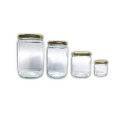Βάζα μελιού (γυάλινα)