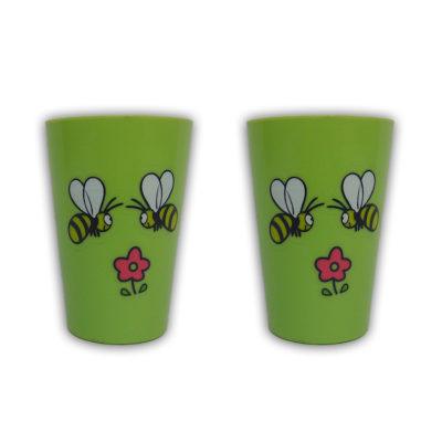 Πλαστικό ποτήρι μέλισσα